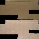Imágenes panorámicas de los alrededores de Curiosity con y sin balance de blancos -- Créditos de las imágenes: NASA/JPL-Caltech/MSSS -- Comparación hecha por Astronomy&Co