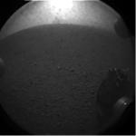 Primera foto del Curiosity