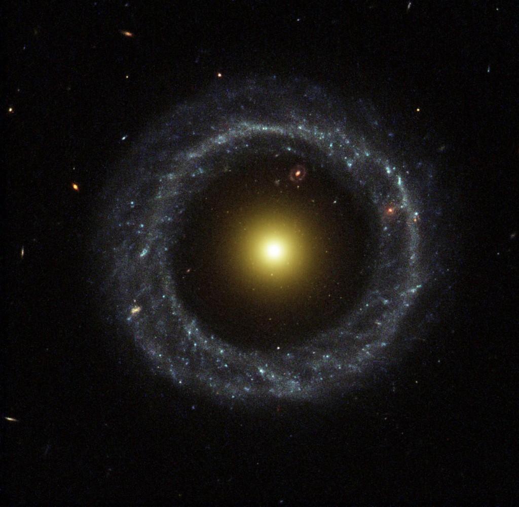 Objeto de Hoag, una galaxia muy rara