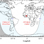 El famoso eclipse penumbral parcial de luna