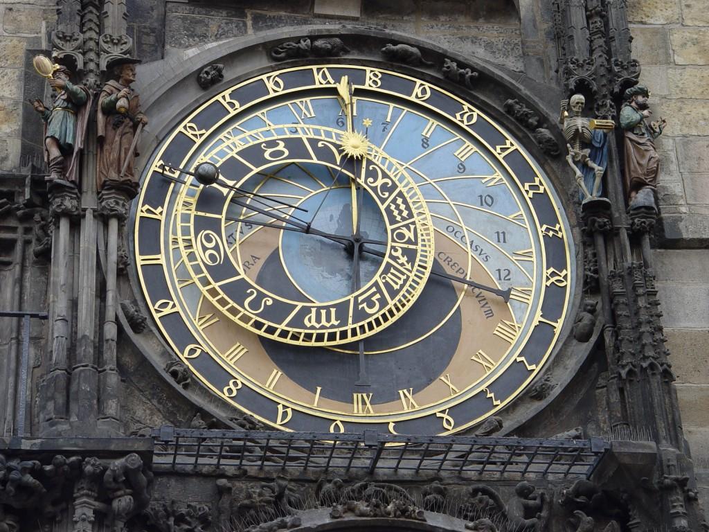 foto del reloj astronomico de praga autor maros