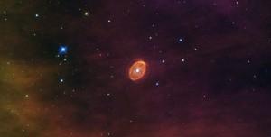 estrella a punto de transformarse en supernova capturada Créditos: ESA/NASA, Nick Rose