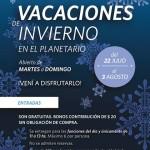 Planetario de La Plata: Vacaciones de invierno 2014
